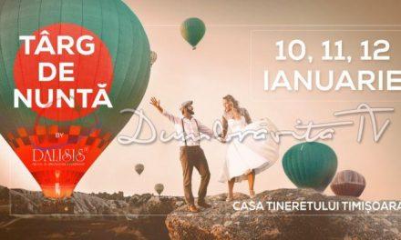 Primul Târg de Nuntă din 2020 are loc la Timișoara