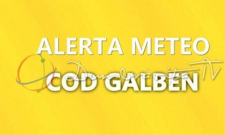 Cod Galben de instabilitate atmosferică accentuată, în Timiș!