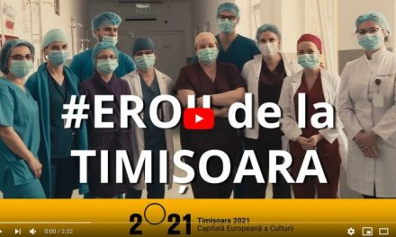 VIDEO: Medicii timișoreni au filmat un mesaj emoționant
