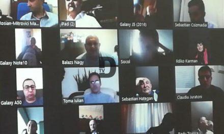 VIDEO: Cum au votat aleșii dumbrăvițeni la prima ședință online a Consiliului Local