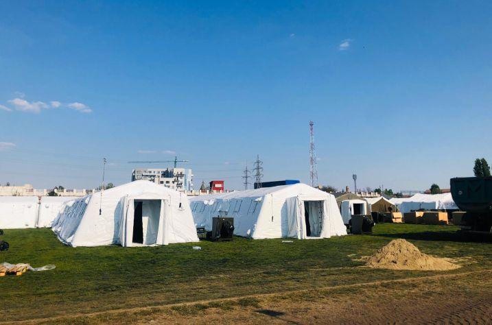 De mâine va funcționa și Spitalul Clinic Militar de Urgență Dr. Victor Popescu Timișoara, amplasat pe Stadionul CFR