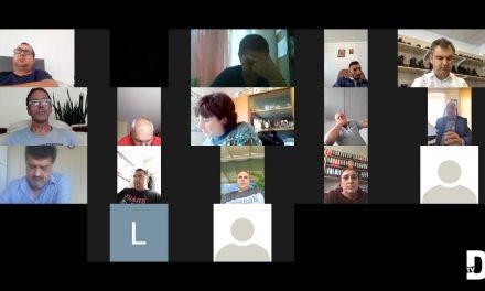 VIDEO INTEGRAL: Consilierii Locali din Dumbrăvița s-au întâlnit într-o nouă ședință ordinară, online
