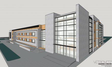 VIDEO: Dumbrăvița va avea o nouă școală. Aceasta va avea bazin de înot și sală de sport