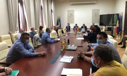 Prefectul județului Timiș s-a întâlnit cu noul director al Administrației Bazinale de Apă Banat