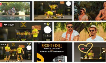 VIDEO: Cantonament online în plină pandemie – Cu cifre se mândresc cei de la NextFit Dumbrăvița!