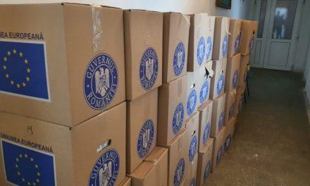 Programul Operațional Ajutorarea Persoanelor – A  început livrarea pachetelor de alimente către primăriile din județul Timiș