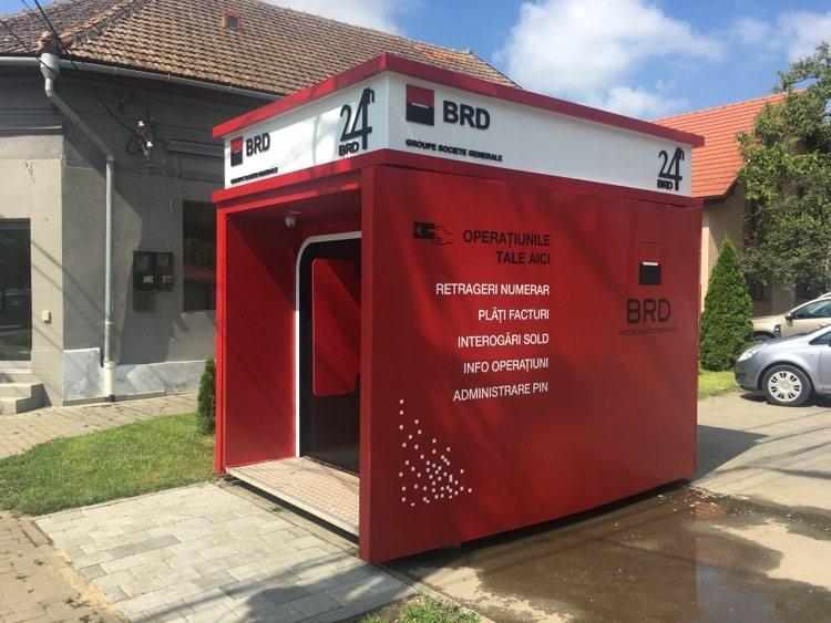 VIDEO: Punct de self-banking BRD în Dumbrăvița!