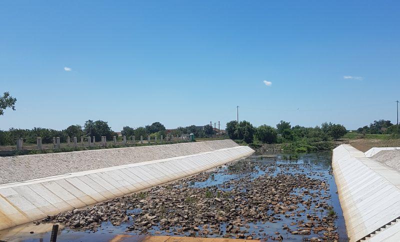 ABAB: Barajul stăvilar de la Sânmihaiu Român mai aproape de finalizare