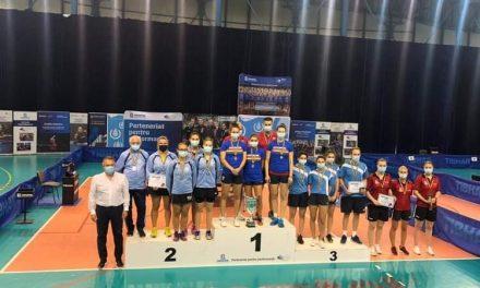 ACS Dumbrăvița a obținut medalia de bronz la Campionatul de tenis de masă