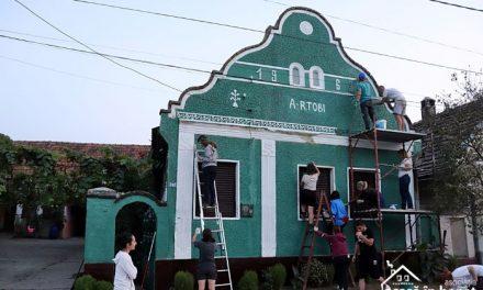 Color the village: o nouă șansă pentru arhitectura bănățeană din Racovița