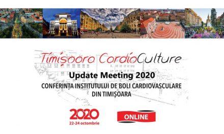 Conferința Timișoara Cardioculture va fi organizat în mediul online