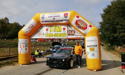 Piloții timișeni au făcut spectacol la Concursul automobilistic internațional VTM Fârdea