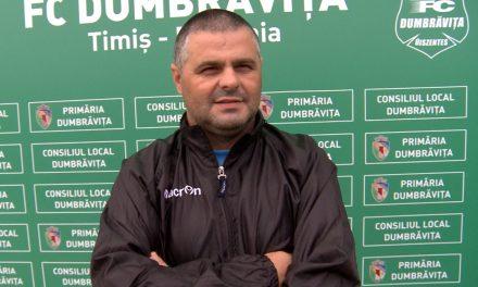 VIDEO: Sorin Bălu despre eliminarea din Cupa României și derby-ul cu Lipova