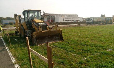 VIDEO: Lucrările la noua școală din Dumbrăvița au intrat în linie dreaptă