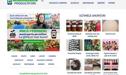 Prima platformă online deschisă micilor fermieri – O companie românească  lansează PiataProducatorilor.ro
