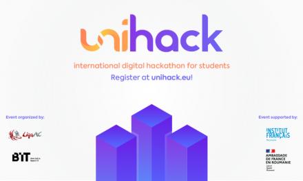 UniHack – Hackathon internațional pentru studenți și elevi de liceu