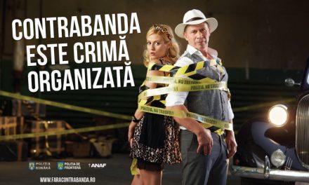 """A fost lansat un nou val al campaniei """"Contrabanda este crima organizata"""""""