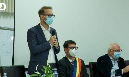 VIDEO: Dominic Samuel Fritz a participat la ceremonia de învestire a noului primar din Dumbrăvița