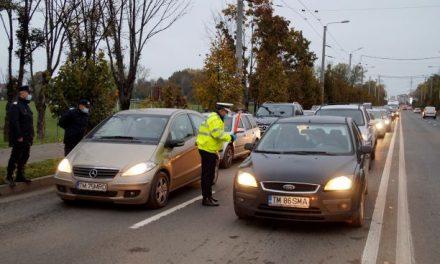 VIDEO: În Dumbrăvița nu se mai poate circula fără declarație sau adeverință