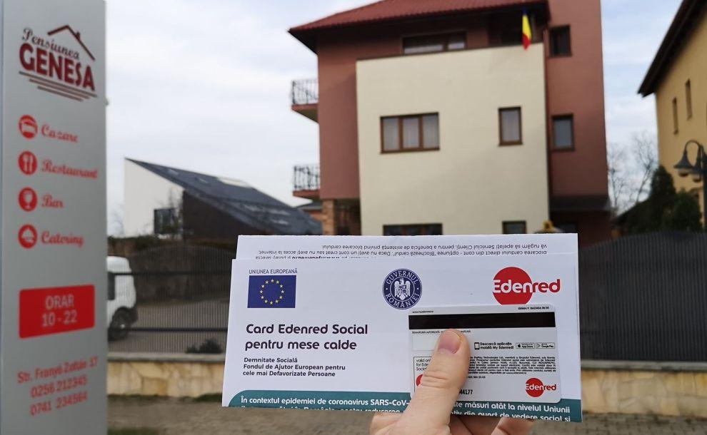 Carduri sociale pentru masă caldă: Restaurantele Genesa din Dumbrăvița și Timișoara incluse în program – UPDATE