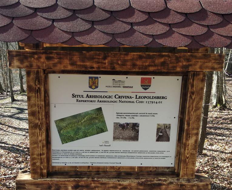 DJPC Timiș pune în valoare situl arheologic Crivina – Leopoldsberg