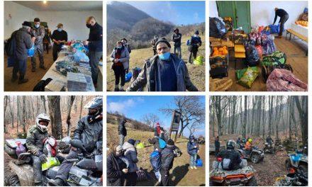DINCOLO DE NORI – Proiect de ajutorare a oamenilor izolați în satul Scărișoara, de pe Valea Cernei, din Banatul de Munte