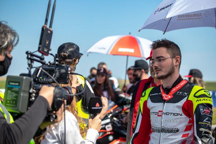 Vlad Neaga câștigă prima etapă 2021 din OMV MaxxMotion MotoRC