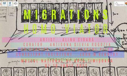 """MNArT prezintă expoziția """"Migrații. HOMO VIATOR"""", a artistei Alina Cioară"""