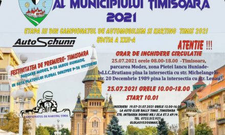 Automobiliștii din Dumbrăvița se pregătesc de MARELE PREMIU AL MUN. TIMISOARA 2021