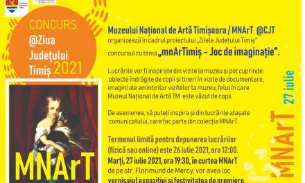 """Muzeul Național de Artă Timișoara organizează concursul """"mnArTimiș – Joc de imaginație"""""""