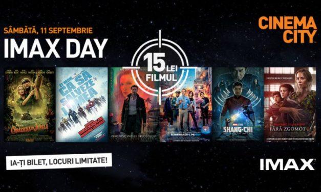 IMAX Day în România: Cele mai bune filme ale momentului la un preț unic