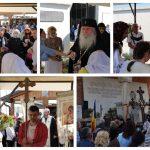 VIDEO: ÎPS Ioan Selejan a sfințit crucile noii biserici din DUMBRĂVIȚA