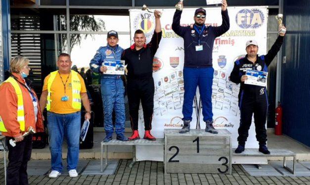 CUPA TIMIȘULUI a adus mai multe locuri pe podium pentru automobiliștii Clubului Sportiv Comunal Dumbrăvița