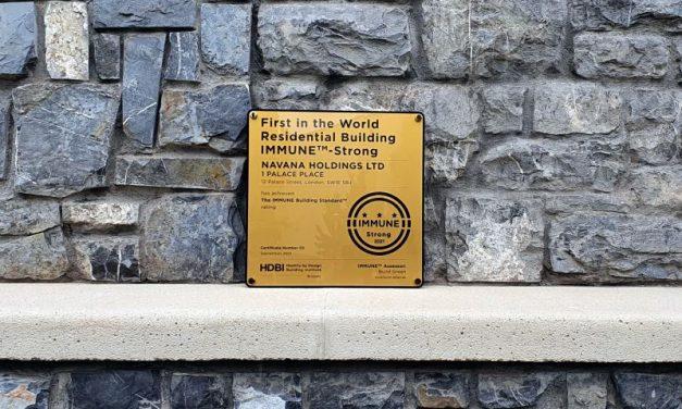 Prima clădire rezidențială din lume, certificată IMMUNE