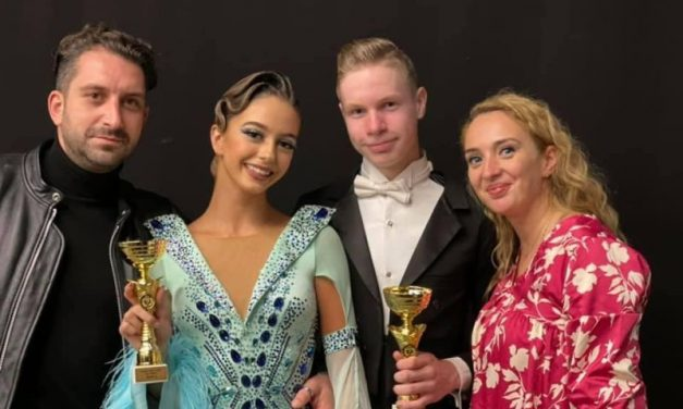 Tineri din TIMISOARA, campioni si vicecampioni ai Romaniei la dans sportiv!